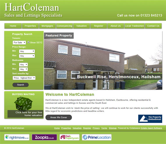 HartColeman Website Screenshot
